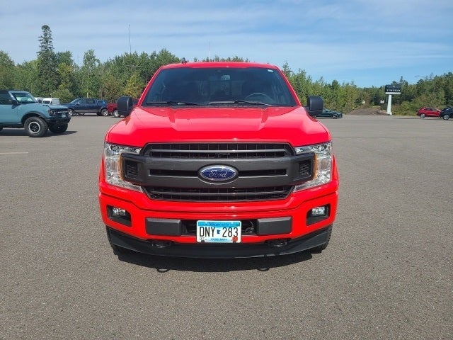 Used 2019 Ford F-150 XLT with VIN 1FTEW1E45KFD33722 for sale in Eveleth, Minnesota