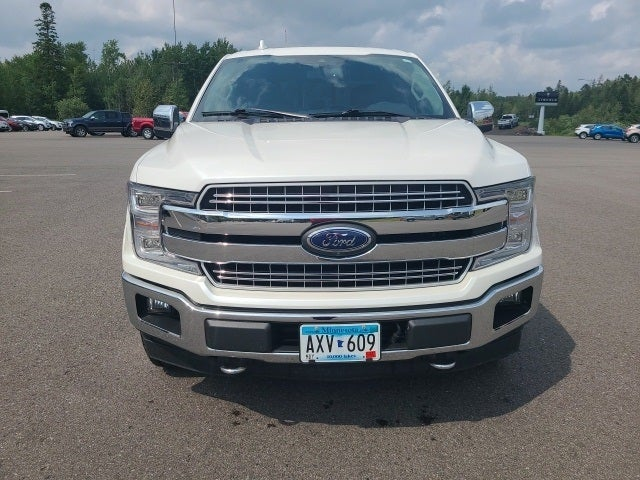 Used 2018 Ford F-150 Lariat with VIN 1FTFW1EG3JFD43663 for sale in Eveleth, Minnesota