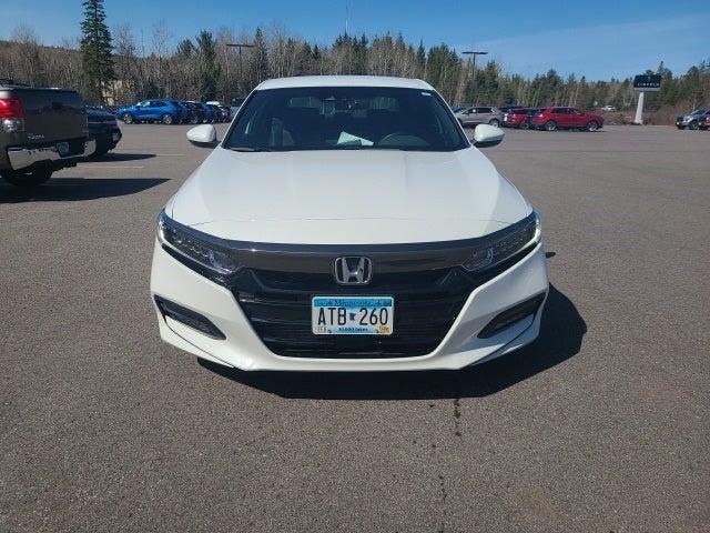 Used 2018 Honda Accord Sport with VIN 1HGCV1F35JA022417 for sale in Eveleth, Minnesota
