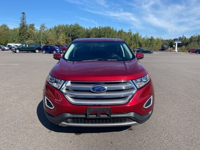 Used 2016 Ford Edge Titanium with VIN 2FMPK4K89GBB18877 for sale in Eveleth, Minnesota